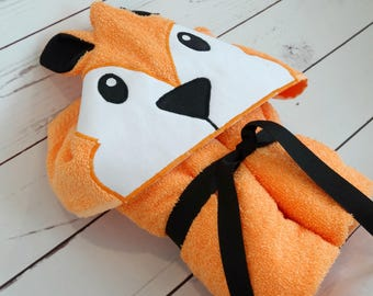 Animal Hooded Towels Etsy