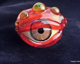 Full Color Glass Eye Pipe (UV)