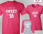 Birthday Shirt Sweet in 1...