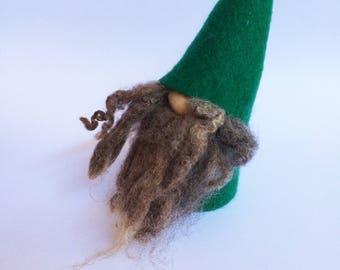 Handmade Scandinavian Felt Gnome