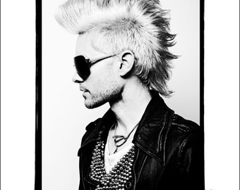 Jared Leto, 30 Seconds To Mars - Original Limited Edition Print