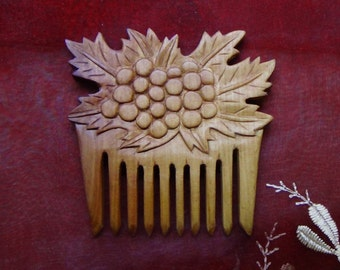 Birthday gift Wife gift for daughter gift for teen girl teen gift best friend gift wooden comb wooden gift hair comb witchcraft witch gifts