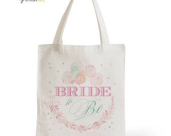 Tote Bag wedding Bride To Be, romantic gift, married, where, witness, invited