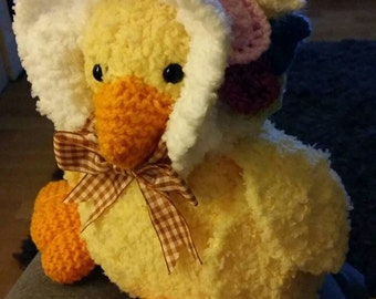 Teddy duck handmade