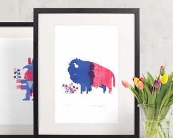 Fine Art American Bison - 11x17