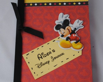 Mickey Mouse Personalized Medium Altered Composition Disney Journal