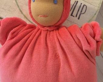 Waldorf Cuddle Doll, Cuddle Doll, First Doll, Baby Gift, Babydoll, Handmade Doll, Babyshower Gift, First Birthday Gift