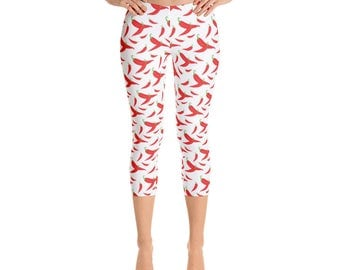 TROUSERS - Leggings Chili Peppers FlBXiMlE43