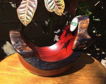 Eco friendly Cocobolo bowl #27
