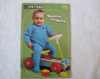 Beehive for Baby / Patons Beehive Book No. 150 / Baby knitting patterns