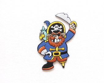 pirate captain patch