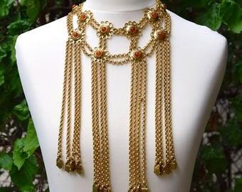 GIVENCHY McQUEEN Design 1998 Plastron Necklace