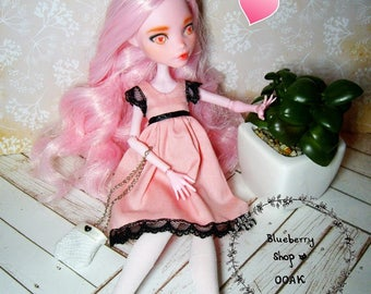 OOAK custom Monster High doll repaint Draculaura