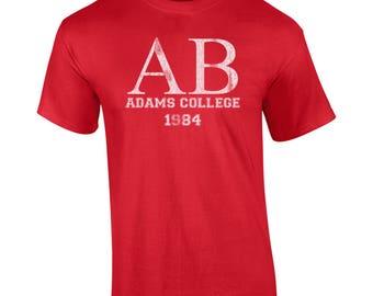 Alpha Beta adams college atoms 80s movie frat boy house costume nerds revenge retro - Apparel Clothing - Mens T-shirt - 589