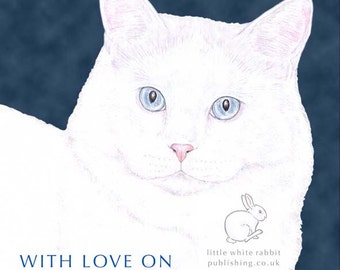 Mickey the Cat - Mother's Day Card