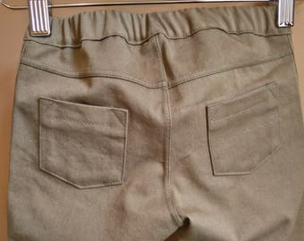 Toddler Boy Green Twill Pants, Chinos, Slacks, Jeans, Trousers, Bottoms, Pants, Twill - Ready to Ship 2T