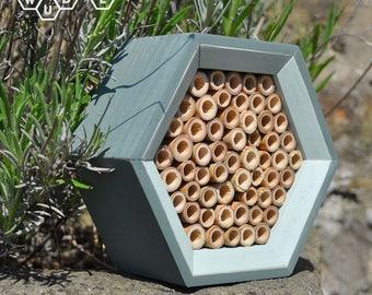 SALE | Solitary Bee House - Bee Hotel - Mason Bee Hotel - Gift for Gardeners - Decorative Garden Art | Easter Garden Gift