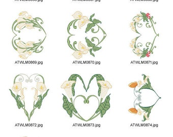I-Love-Callas-5x7 ( 10 Machine Embroidery Designs from ATW ) XYZ17C