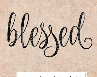 SVG Cutting Files • svg • dxf • eps • png • Blessed, Bible SVG