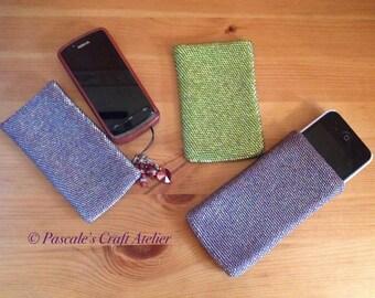 Luxurious beaded phone/iPod case MTO
