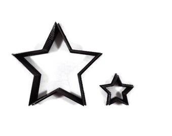 Star Cookie Cutter - Star Shape Cupcake Topper - Star Shaped Fondant Cutter