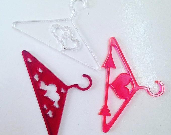 Designer Doll Hangers - Cupid Set for Monster High, Ever After High, Barbie, Pullip, Blythe