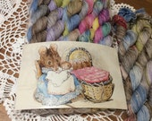 4ply Mini Skeins Beatrix Potter Themed.