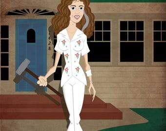 Nancy Animated Nightmare On Elm Street