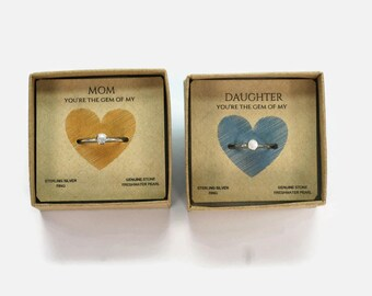 "Shop ""mother daughter jewelry"" in Rings"