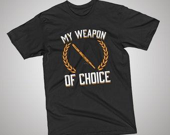 Bassoon Weapon of Choice T-Shirt