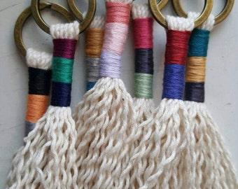 Key buoy, the Loleries inspiration, handmade, Macrame
