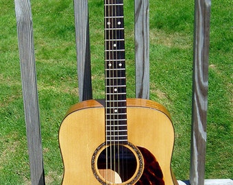 Handmade Acoustic Dreadnought Guitar