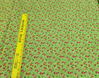 Give Thanks-Green cotton Fabric from Northcott