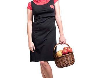 Lucia's nursing dress