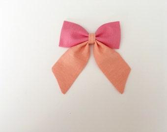 Color Block // Sailor Bow