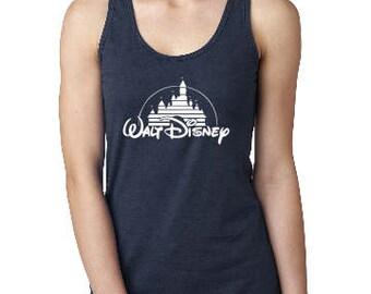 Disney Castle Shirt, Classic shirt, Disney Tank, Custom Disney Shirt, Disney  Racerback Tank, Disney Vacation Tank