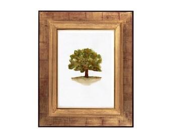 Watercolour Tree Wall Art Print, Australian Art, Watercolour Botanical Print, Watercolour Tree Painting Prints, Australian Artist, Printable