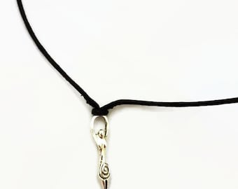Choker / necklace / goddess / wiccan / pagan / witchy / witchcraft / gift / jewellrey / jewelry / spiritual