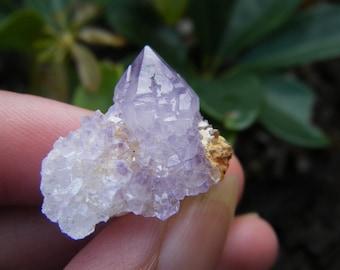 Cactus Quartz Crystal, Purple Amethyst Crystal, Raw, Natural, Amethyst Gemstone, Amethyst Crystal, Spirit Quartz, Amethyst Cluster, Rough