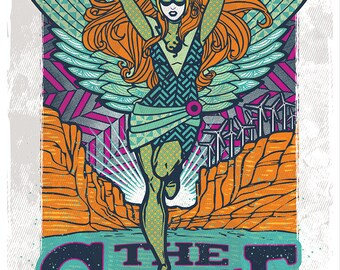 Phish Gorge 2016 poster