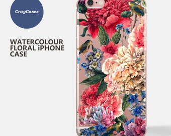 floral iPhone 7 case, iPhone 6 case floral, floral iPhone Case, floral iPhone 7 plus Case, floral iPhone 6 and 7 Plus Case (Ships From UK)