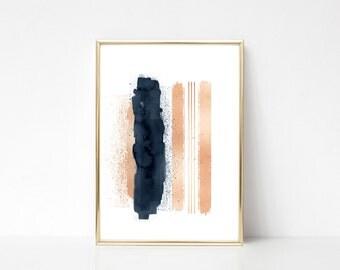Enjoy The Silence #1,Printable Art,Printable Wall Art Print,Paint Splash Print,Modern Wall Art,Digital Print,Instant Download