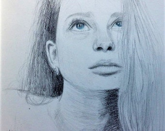 Pencil Portrait *for yourself or for your loved ones*
