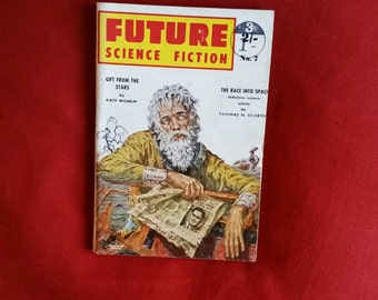 Future Science Fiction #7 (1950s) - kate wilhelm, thomas scortia, bill wesley, donald franson, margaret st clair