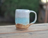Lakeside Coffee Mug - Handmade Pottery Mug - Ceramic Mug - Coffee Mug - Tea Cup