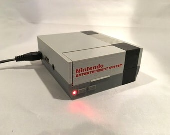 Raspberry Pi Nintendo NES Case with LED - NES Lid - 2B or Pi 3