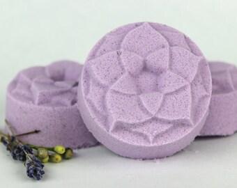 Calm Shower Steamer - Calming Aromatherapy - Shower Bomb, shower melt, shower fizzy, chamomile, lavender