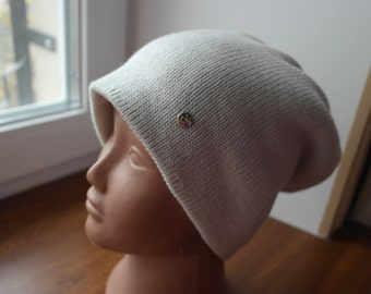 KNITTED HAT  twin/ Шапка бини двойная