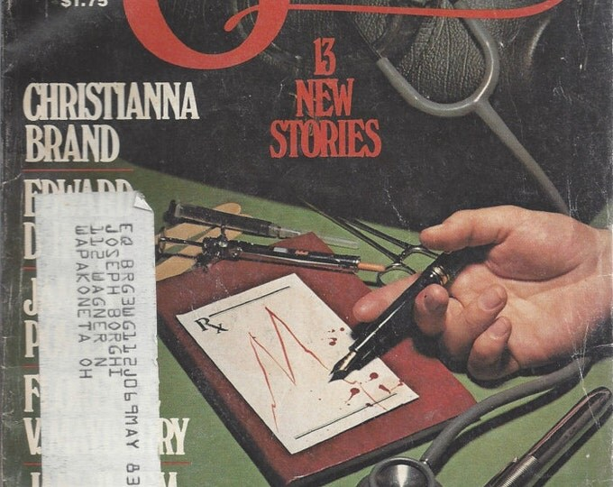 Ellery Queen January 1983 Mystery Magazine