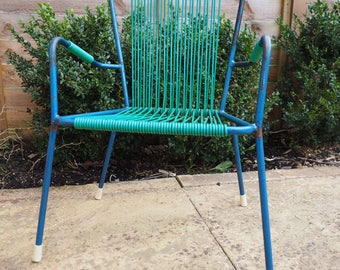 Retro Children's Garden Chair